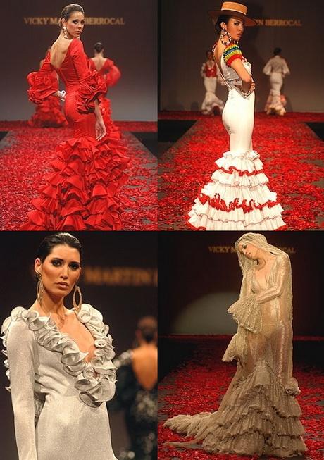 Dise adores de trajes de flamenca - Disenadores de sevilla ...