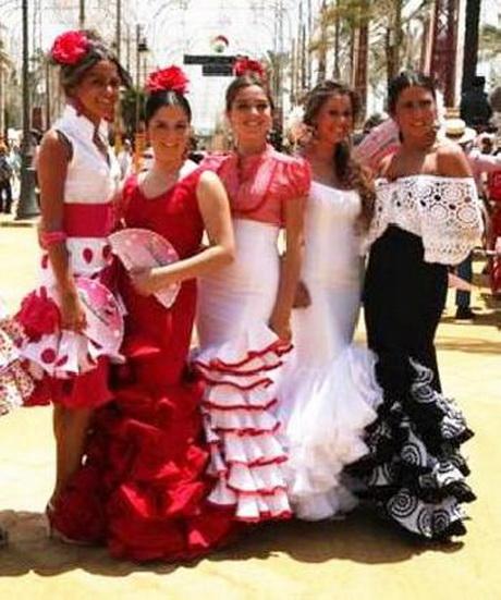 Dise adores trajes de flamenca - Disenadores de sevilla ...