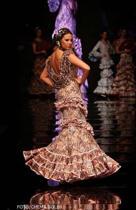 Adesivo De Geladeira Retro ~ Trajes de flamenca de diseño