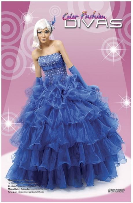 Foto de Vestido de 15 Años – Color Azul