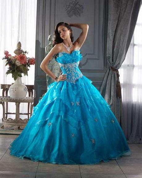 Vestidos de 15 aos vestido quince azul turquesa anny car for Color azul turquesa