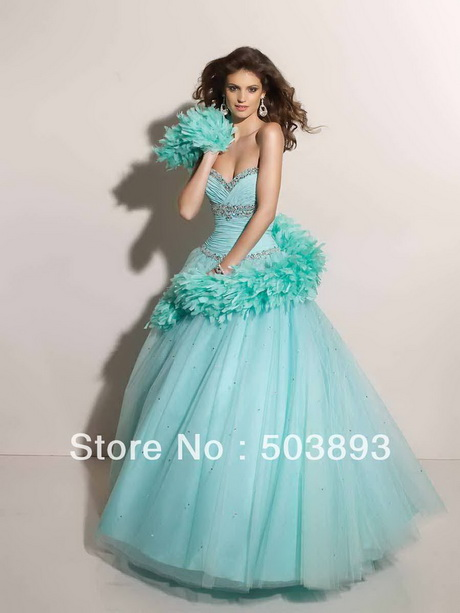 Vestidos de xv aos 2014 color verde 2014 nuevo enviacuteo for Color azul turquesa