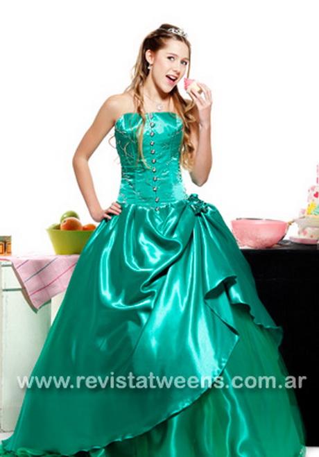 Vestidos de 15 años color verde agua