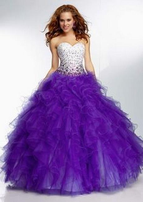 Purple Quinceanera Dresses 2014