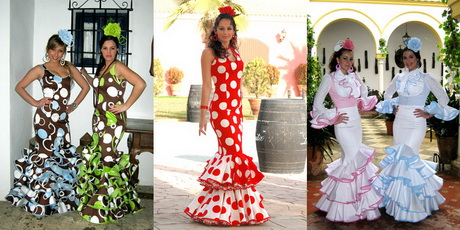 Trajes de flamenca, faldas flamencas y zapatos flamenco