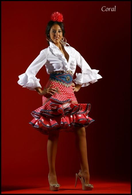 Trajes de flamenca en Sevilla, vestidos de gitana