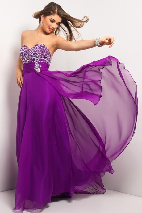 de color morado Lindo vestido para fiesta de promoci n de color