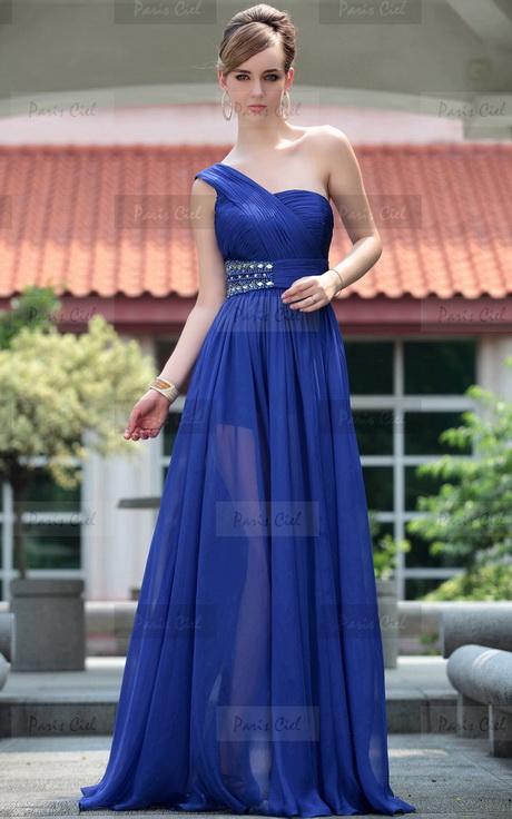 Vestidos De Noche Azul Electrico