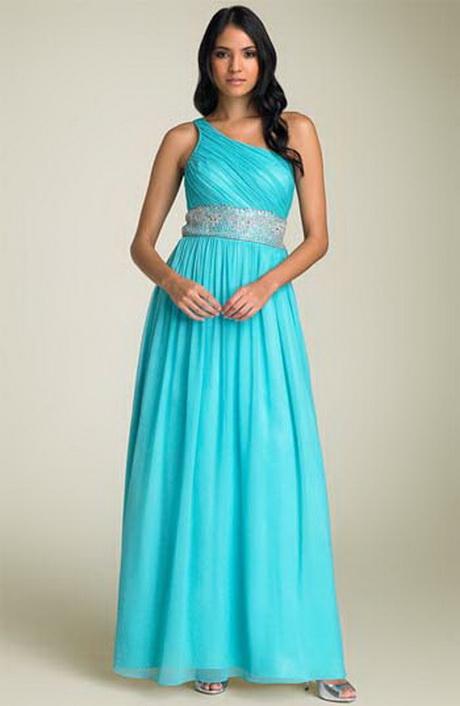 Vestido de fiesta 2014 en color azul turquesa con hombros for Color azul turquesa