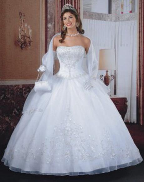 Vestidos de novia ampones
