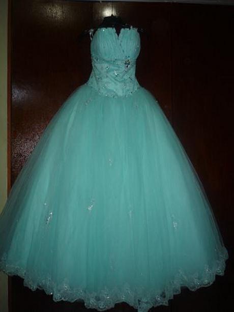 Vestido vestidos aos color turquesa pictures car for Color azul turquesa