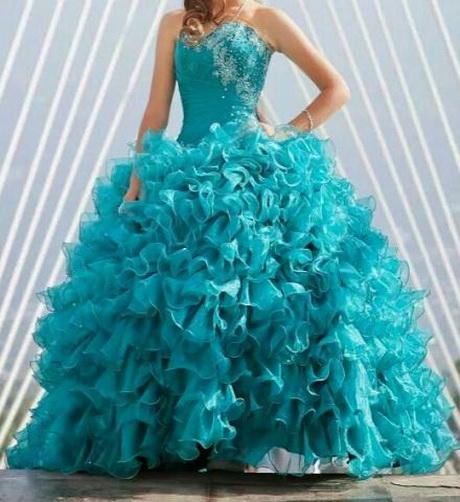Vestido Xv A Os Vestido Xv Color Verde Jade De Valery Y El ...