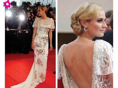 Simple y con estilo peinados para vestidos escotados dela espalda Colección de ideas de color de pelo - Vestidos escote espalda