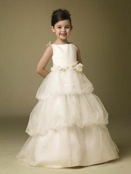 Vestidos para pajes de boda de niñas - Imagui