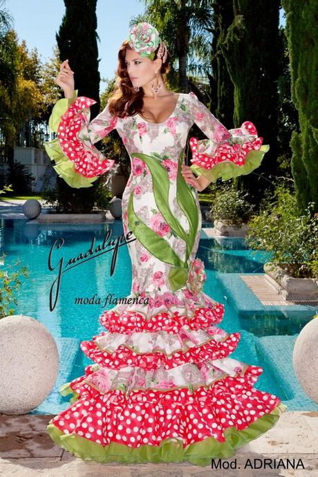 Trajes de flamenca 2014 - Creaciones Maricruz
