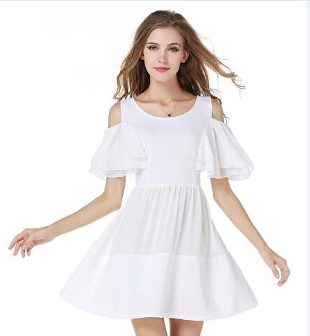Vestidos blanco cortos 2016 for Suelto blanco suelto barato