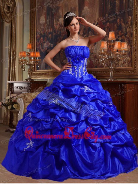 Blue royal and black quinceanera dresses forecast to wear for autumn in 2019