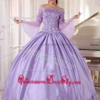 Quinceanera dresses with sleeves