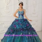 Quinceanera dresses with straps