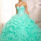 Tiffany blue quinceanera dresses